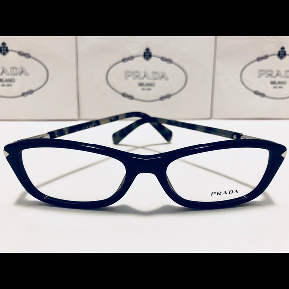 5922518b12e Prada Women s Eyeglasses 04P Shiny Black New 52mm.  M 5b981483409c15dd2172b07f